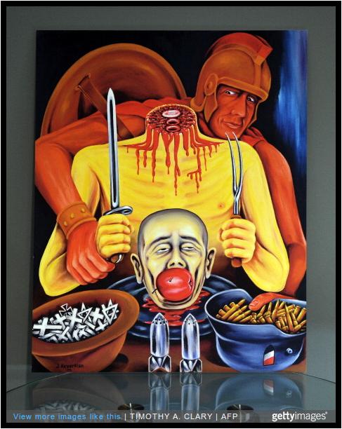 Dr. Jack Kevorkian's 'Gourmet War' is on