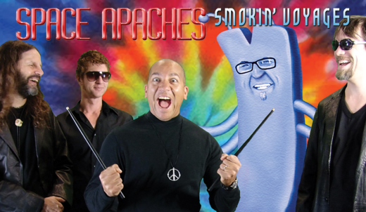Space Apaches band cover
