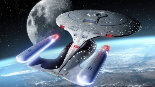 Star Trek: The Next Generation Starship Enterprise