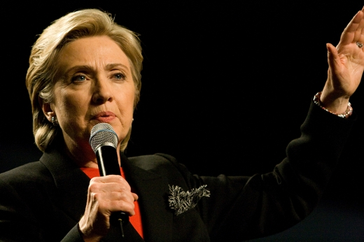 Hillary Clinton has stand-up comedy potential